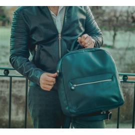 Backpack in leather Mod Napoli
