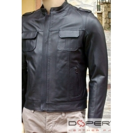 Leather jacket for men model New Ned