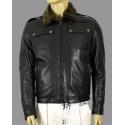 Genuine leather jacket for men model Bucarest,