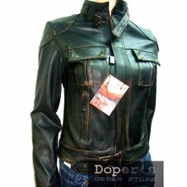 Leather jacket for women model Bel Siria
