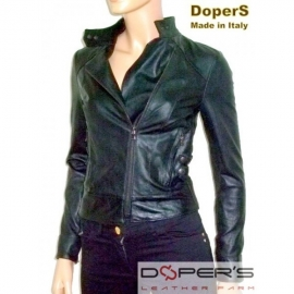 Leather jacket for women model Skinny