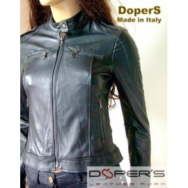 Leather jacket for women model Christine
