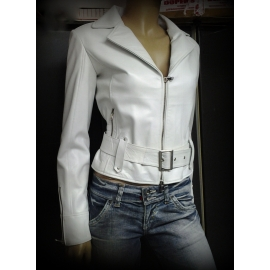 Leather jacket for women model Crysti