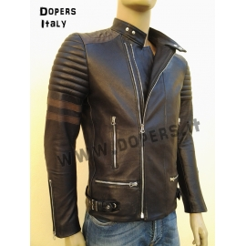 Leather jacket for men model Kim Raider