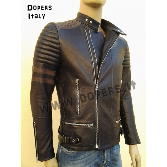 Leather jacket for men model Kim Raider 5d9e7a16f66