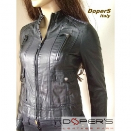 Leather jacket for women Model Desirè