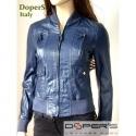 Leather jacket for women model Bomber Sarah