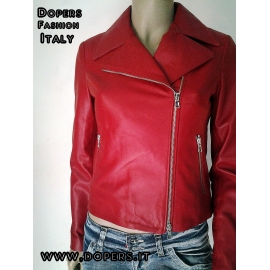 Leather jacket for women model Adelaide