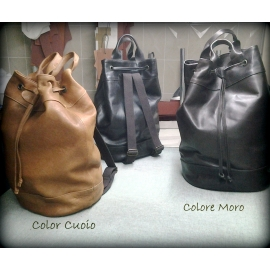 Leather backpack model Urban