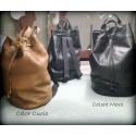 Leather backpack model Urban