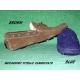 Scarpe in vera pelle Modello Mocassino Vinci  Blue
