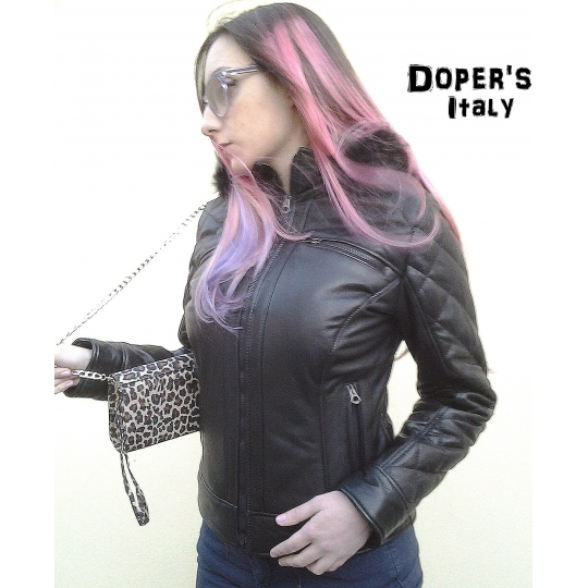 Giacca in Pelle Donna Modello Ilary
