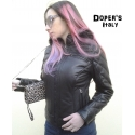 Leather jacket for women model Ilary