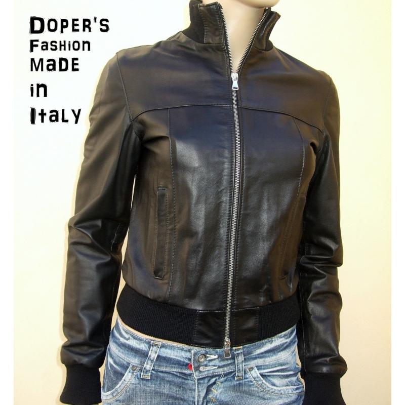 online store 11360 10780 Giubbotto in pelle da donna