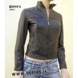 Leather jacket for women model Iris