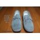 Scarpe in vera pelle Modello Mocassino Vinci  Grigio