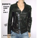 Leather jacket for women model Sidney