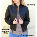 Leather jacket for women model Marbella