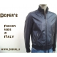 Leather jacket for men mod. Paul