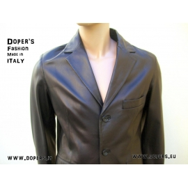 Leather jacket for men model Sidney