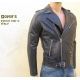Leather jacket for men mod. Arrow