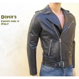Leather jacket for men model Arrow