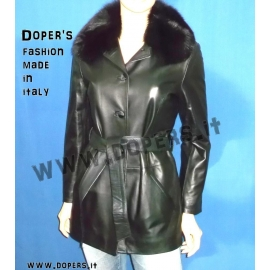 Genuine leather jacket for women model Kiev