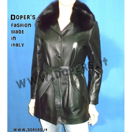 Leather Jacket Woman Mod. Kiev | genuine leather jacket for women