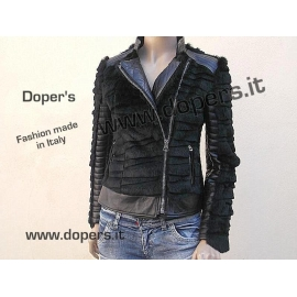 Leather jacket for women model Laila