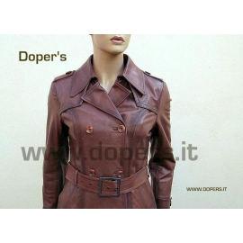 Leather jacket for women, model Elisea