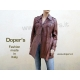 Leather jacket for women, model Elisea