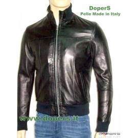 leather jacket for men model Bomber Geoge x100