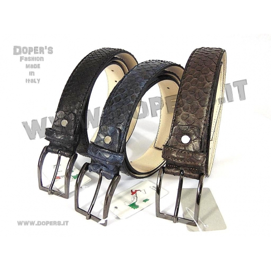 Men's belt model Esotic