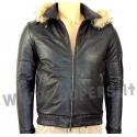 Genuine leather jacket for men model Bomber George CAP16