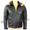 Genuine leather jacket for men model Bomber George CAP16