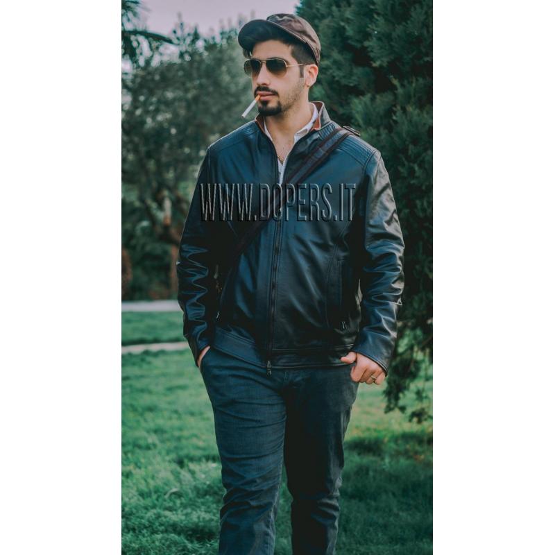 Leather jacket for men Model Kevin