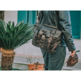 Leather bag for men model Torino