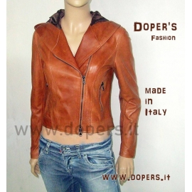 Leather jacket model Taormina