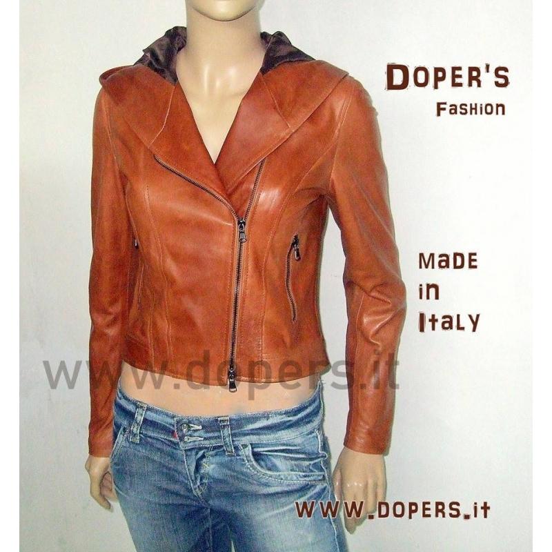 Giubbotto in pelle Modello Taormina