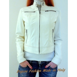 Leather jacket for women model Grace
