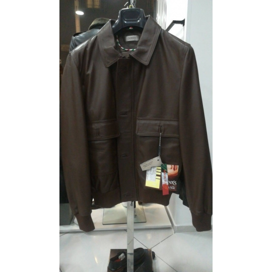 Leather jacket for men Model George Class