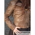 Leather jacket for women model Crystal