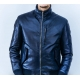 Genuine leather jacket for men model Bomber George F
