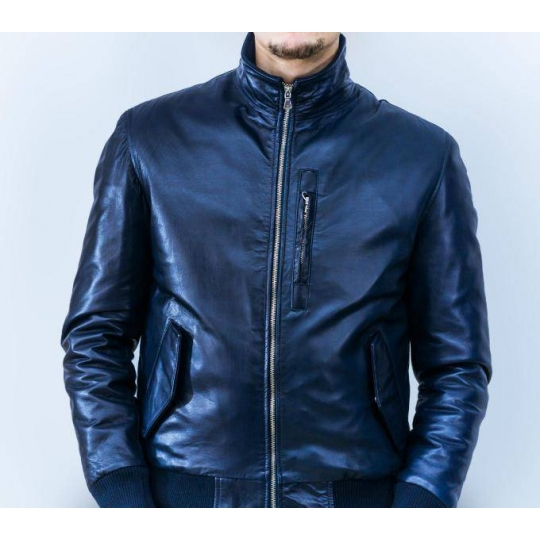 reputable site d8631 b0205 Giubbotto in Pelle Uomo Mod George Bomber F