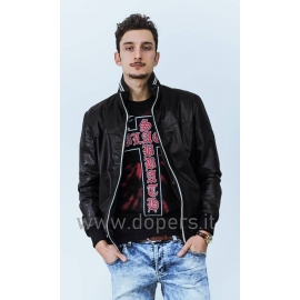 Leather jacket for men Model Prescott