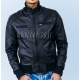 leather jacket for men model Pitt Bomber