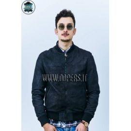 Genuine leather jacket for men model Bomber Zac Capri
