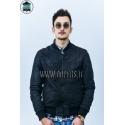 Genuine leather jacket for men model Bomber Zac Capri